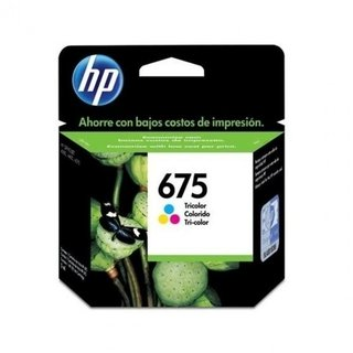 Cartucho HP 675 Tricolor Original