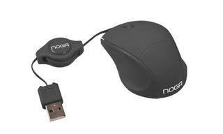 Mini Mouse Retractil Noganet USB NGM-418