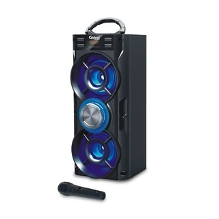 Parlante GLOBAL Bluetooth 10W c/mic FM/USB/AUX