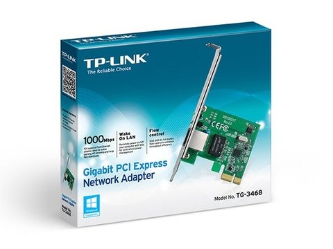 Placa Red 1 Gigabit PCIE TP-Link TG-3468