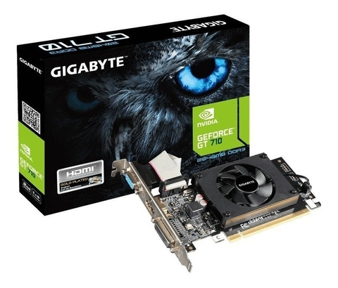 Placa Video Gigabyte GT 710 1GB DDR5