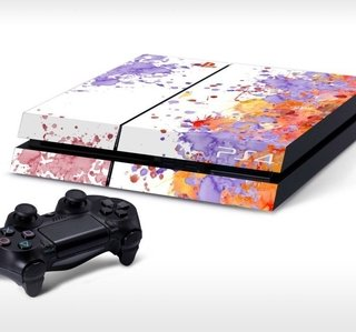 Sticker para PlayStation 4