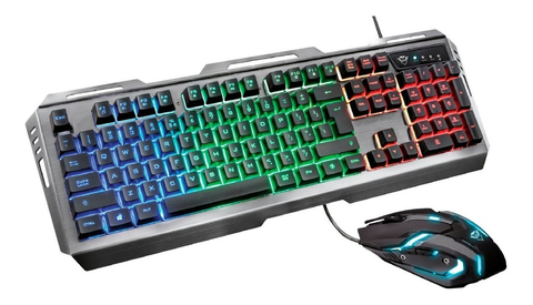Teclado + Mouse Gamer TRUST Tural