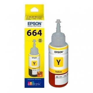 Tinta EPSON ORIGINAL 664 YELLOW 70ml