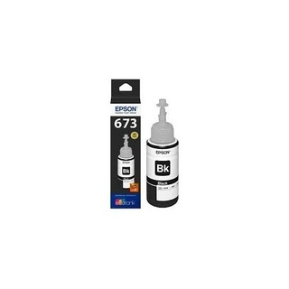 Tinta EPSON ORIGINAL 673 BLACK 70ml p/L800