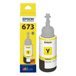 Tinta EPSON ORIGINAL 673 YELLOW 70ml p/L800