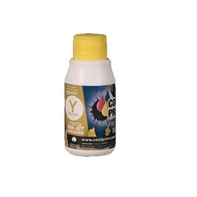 Tinta Universal HP COOL PRINT 100ml Amarillo