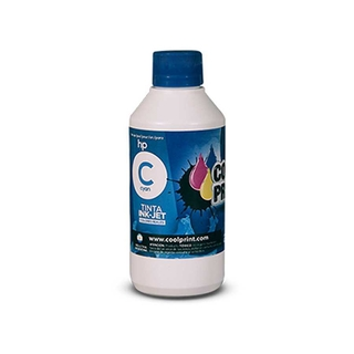 Tinta Universal HP COOL PRINT 100ml Cyan