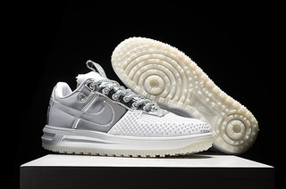 Nike LUNAR FORCE 1 DUCKBOOT Low [Branco/Preto] na internet