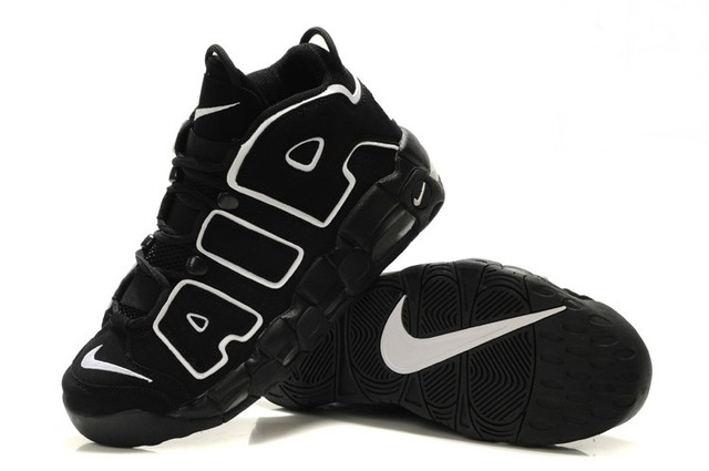 NIKE AIR MORE UPTEMPO [Preto/Branco] na internet