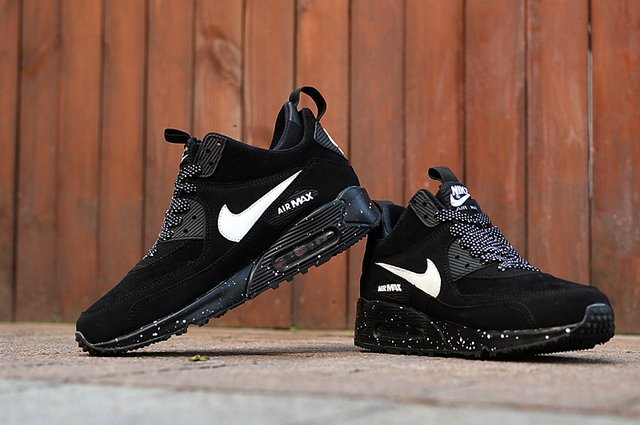 TÊNIS NIKE AIR MAX 90 WINTER [Preto/Branco] na internet