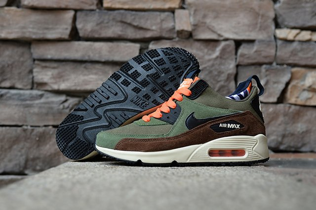 TÊNIS NIKE AIR MAX 90 WINTER [Verde/Preto] na internet