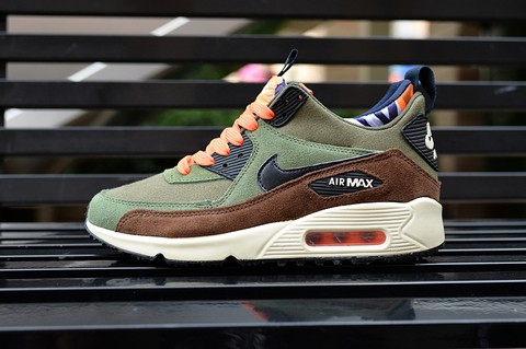 TÊNIS NIKE AIR MAX 90 WINTER [Verde/Preto]