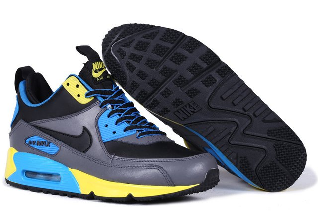 TÊNIS NIKE AIR MAX 90 WINTER [Cinza/Preto] - Grife Urbano Multimarcas