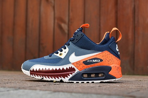 TÊNIS NIKE AIR MAX 90 WINTER [Azul Royal/Branco]