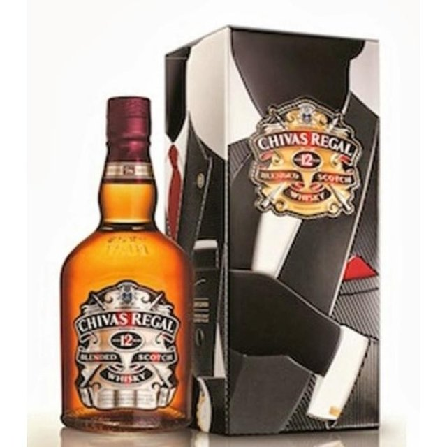 Chivas Regal Gentlemen 750ml lata - comprar online