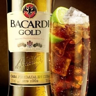 Bacardi Gold 980 en internet