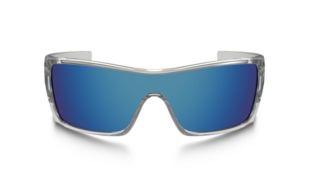 Gafas Oakley Originales Batwolf OO9101-07 Marco Transparente Lente Azul