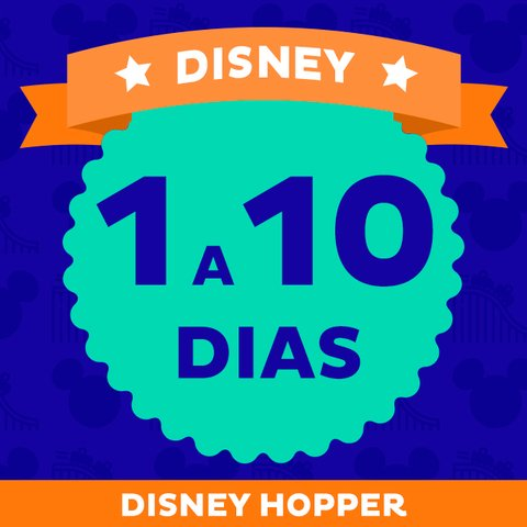 Ingresso Disney World + Park Hopper - comprar online