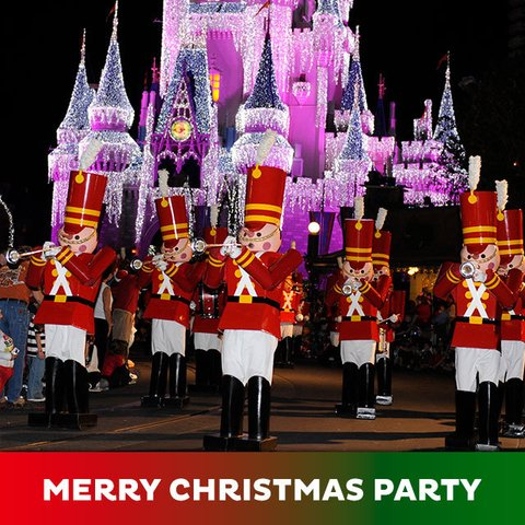 Ingresso Disney Mickey's Very Merry Christmas Party