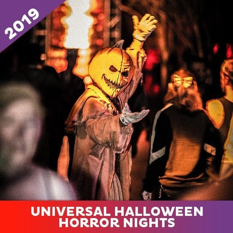 Ingresso Universal Halloween Horror Nights 2019 - Passe Ilimitado