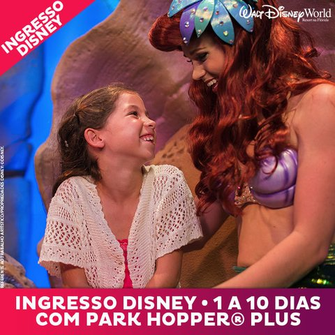 Ingresso Disney Hopper Plus (com Parque Aquático)