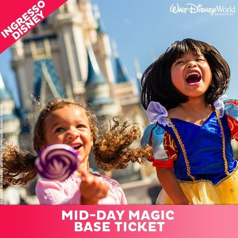 INGRESSO DISNEY MID-DAY MAGIC PARK HOPPER- SETEMBRO