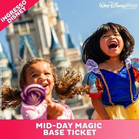 INGRESSO DISNEY MID-DAY MAGIC BASICO - DEZEMBRO