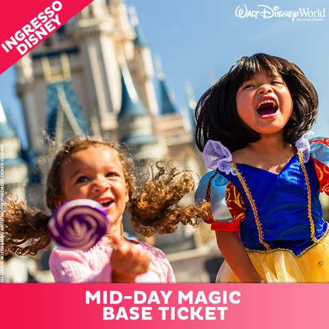 INGRESSO DISNEY MID-DAY MAGIC BASICO - SETEMBRO