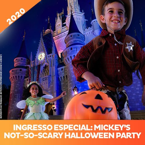 Ingresso Disney Mickey's Not-So-Scary Halloween Party