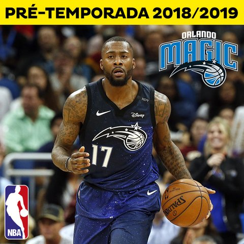 Ingresso Basquete NBA - Orlando Magic 2018 / 2019 Pré temporada
