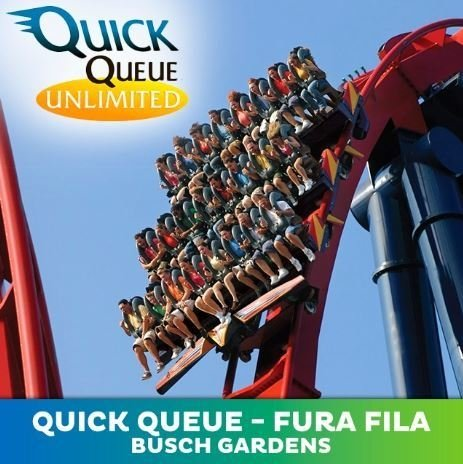 Quick Queue Ilimitado - Busch Gardens Tampa