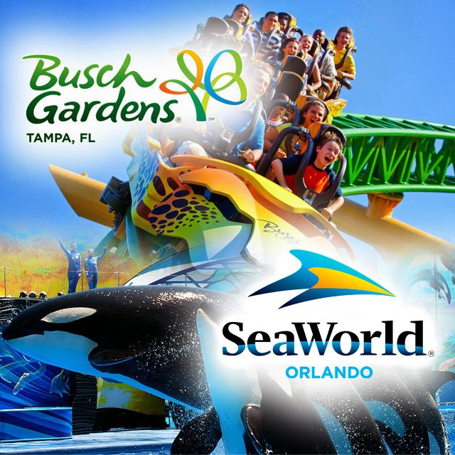 Ingressos Sea World E Busch Gardens