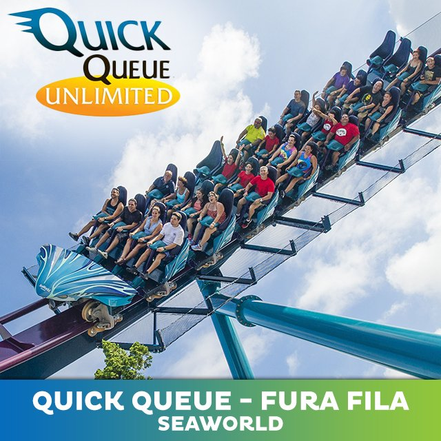 Quick Queue Ilimitado - SeaWorld Orlando