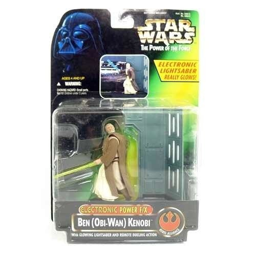 Star Wars Potf - Obi-wan Kenobi - Electronic Power F/x 1996