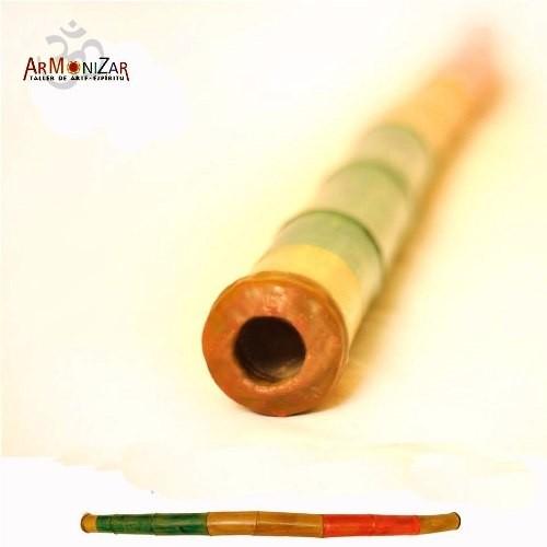 Didgeridoo De Caña Bambú/tacuara A Todo Color!!-armoniza-