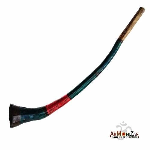 Agave Didgeridoo De Boca Ancha A Todo Color, Armonizar