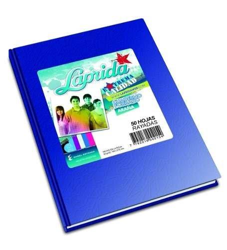 Cuaderno Laprida Tapa Dura Araña X 50 Hojas Rayadas 16 X21cm