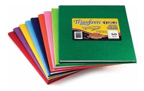 Cuaderno Triunfante 123 (tipo Abc) 19x23cm X 50 Hojas Rayado