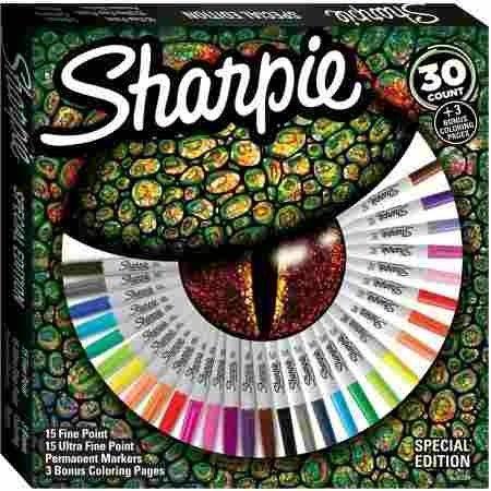 Marcadores Sharpie Set X 30 Edición Especial