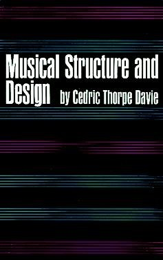 Musical Structure and Desingn - DAVIE, Cedric T. CONSULTAR STOCK