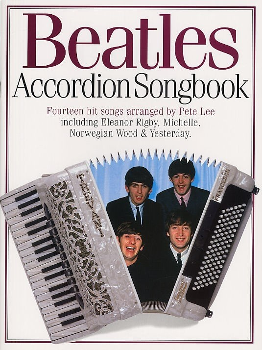 ACCORDION SONGBOOK - THE BEATLES CONSULTAR STOCK