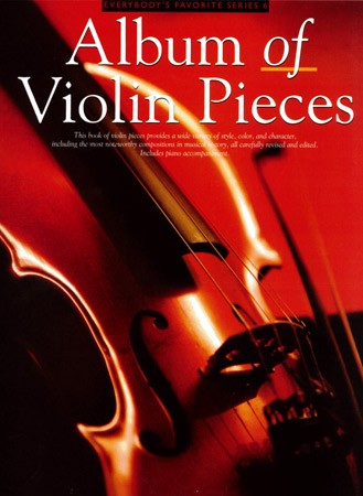 ALBUM OF VIOLIN PIECES - AUTORES VARIOS CONSULTAR STOCK