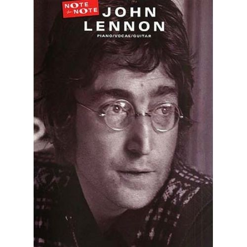 NOTE FOR NOTE JHON LENNON