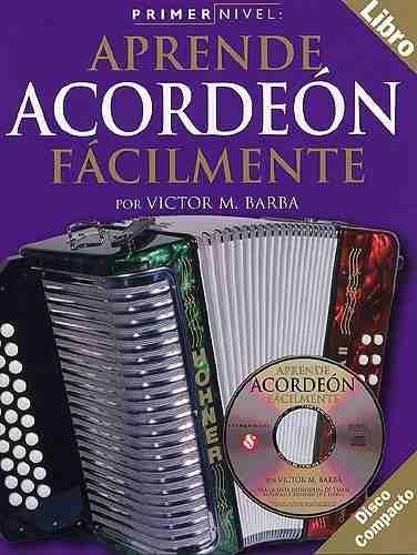 APRENDE ACORDEON FACILMENTE - BARBA, Victor M+CD CONSULTAR STOCK