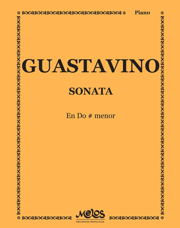 SONATA - Do # menor - GUASTAVINO Carlos J