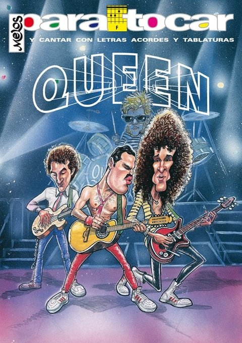 Cancionero QUEEN - Nº 1