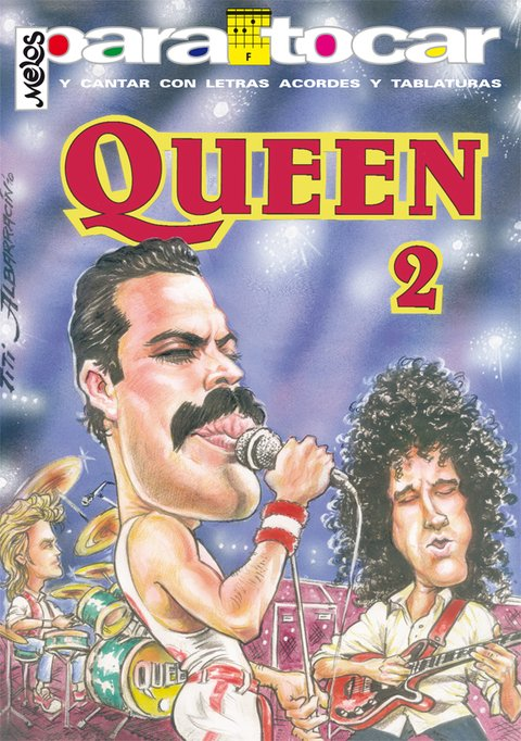 Cancionero QUEEN - Nº 2