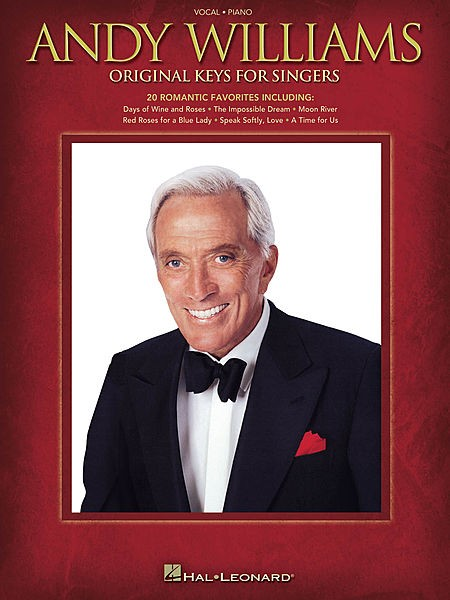 Andy Williams - Original Keys for Singers - CONSULTAR STOCK