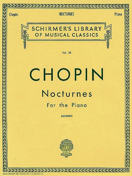 Nocturnos - Frederic Chopin - CONSULTAR STOCK